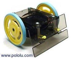 Pololu - 6.d. Laser Cutting Example: Servo-Driven Sumo Robot