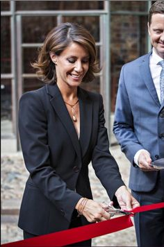 Royals & Fashion - Princess Marie attended the inauguration of the exhibition of Georg Jensen in Kolding.