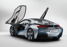 BMW i8 concept. Like if you find it has a nice butt.