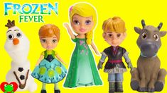 Disney Frozen FEVER Mini Dolls