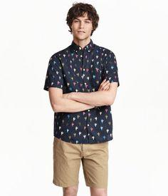 Short-sleeved cotton shirt Rp 349,900 MATCHING!!