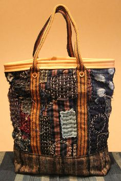 antique japanese boro bag by oldindustrial12 on Etsy