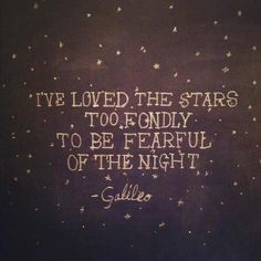 Galileo. I'm obsessed.