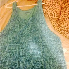 fashion tank Awesome deal, NWT, Aztec print, can be used as is or cut for a crop top! Forever 21 Shirts Tank Tops