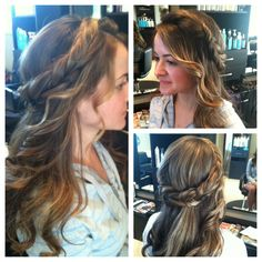 Bridal Up-do by Master Stylist Janelle Colón