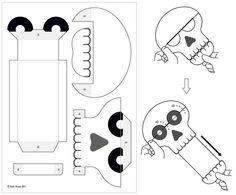 Parionette : Eye-pop Skeleton