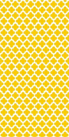 Vinyl wallpaper. Self-adhesive yellow EDEN by Yaelyaniv on Etsy