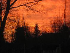 zonsondergang in de tuin Formerum Terschelling