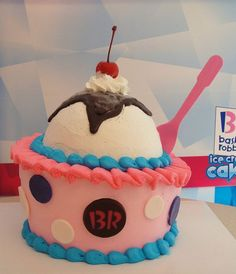 Baskin Robbins Ice Cream Cake Birthday Pictures Ideas