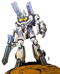 jump-gate:Macross by: Mr. Macross Valkyrie, Robotech Macross, Macross Anime, Mecha Anime, Character Concept, Concept Art, Character Design, Robot Manga, Gundam
