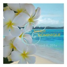 DealsPixDezines Plumeria Lei /beach/tropical wedding Invitationonline after you search a lot for where to buy