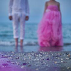 bride and groom on the beach www.say-yep.com/issue2/