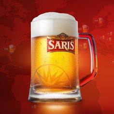 Šariš designed by PIXOBAR. the global community for designers and creative professionals. Corporate Identity, My Works, App Design, Creative Art, Beer, Mugs, Classy, Sporty, Alcohol
