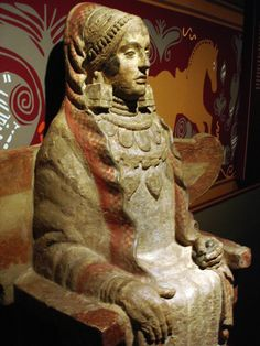 La Dama de baza. Arte ibero. S.III a.C,