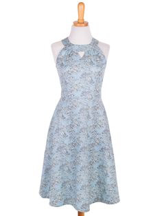 Afternoon Allure Dress - Blue