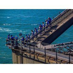 Climbers on the Sydney Harbour Bridge #CanonAustralia #exploringaustralia #SydneyHarbourBridge #climb # by sbstringer http://ift.tt/1NRMbNv