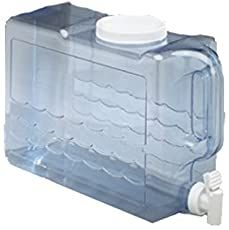 Arrow Home Products 00743 2 Gallon Slimline Beverage Container in Clear Plastic Beverage Dispenser, Drink Dispenser, Water Dispenser, Water Containers, Storage Containers, Best Lemonade, Fridge Shelves, Easy Fill, Beverages