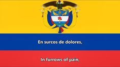 Anthem of Colombia (ES/EN lyrics) - Himno nacional de Colombia Continents, South America, Countries, Movie Posters, Youtube, National Anthem, Patriotic Symbols, Caracas, Colombia