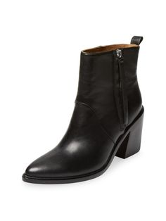 Troy Leather Bootie from Must-Have Ankle Boots & Booties on Gilt