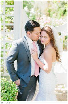 Berto Bri | Bay Area Victorian Falkirk Mansion Wedding | Bride & Groom Wedding Pose | Romantic
