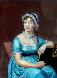 Jane Austen (1775-1817) English novelist and author of enduring classic novel about middle class English life and courtship. SENSE AND SENSIBILITY, PRIDE AND PREJUDICE, and EMMA have been dramatized for film and broadcast. Ca. 1800. Photo Barbara Cushing/Everett Collection