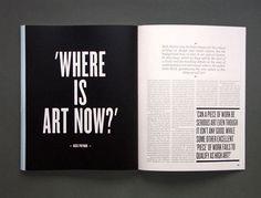 Elephant Magazine – Design is art Magazine Layout Design, Book Design Layout, Print Layout, Design Blog, Page Layout, Magazine Layouts, Design Design, Cover Design, Text Layout