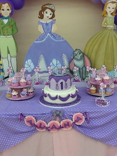 We created this beautiful Sofia the first party!