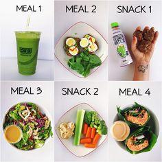 High Protein Vegan Recipes, Raw Food Recipes, Diet Recipes, Healthy Recipes, Healthy Meal Prep, Healthy Snacks, Healthy Eating, Fitness Meal Prep, Healthy Life