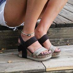 e411abd5ef21 New OTBT Women s Sandals Bushnell in Dark Brown Fabric