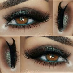 Augen makeup Blue and brown duochrome Wedding Hair Style Tips: Choose Your Wedding Day Hairstyle Car Pretty Makeup, Love Makeup, Makeup Inspo, Makeup Inspiration, Beauty Makeup, Makeup Art, Makeup Ideas, Beauty Tips, Blue Eye Makeup