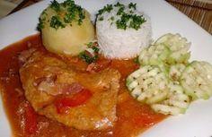 Královské vepřové plátky Pork, Cooking Recipes, Chicken, Meat, Dinner, Kale Stir Fry, Dining, Chef Recipes, Food Dinners
