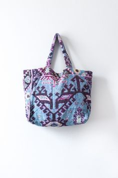 Aztec Pink beach bag
