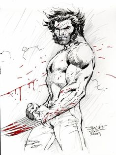 More Blood Please Art by: Jim Lee I need more blood in comics… Who's with me?