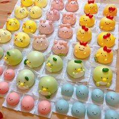 Wagashi Recipe, Cute Baking, Kawaii Dessert, Cute Buns, Steamed Cake, Bento Recipes, Meringue Cookies, Cute Desserts, Macarons