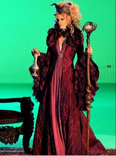 Kristen Bauer van Straten (Pam) as Maleficent in Once Upon a Time. Am loving this show so far. Please keep being good!!