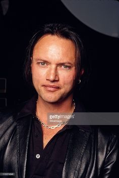 Geoff Tate / Vocals of Queensryche during Queensryche Photo Session at Seattle in Seattle, Washington, United States.