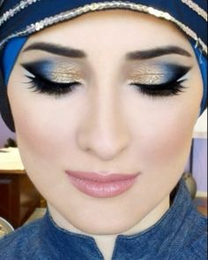 Makeup. Arabic eye makeup. Dramatic cateye. Instagram @ DressYourFace