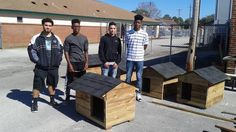 Shop teacher Barry Stewart came up with a genius way tointermingle learning, creativity, and philanthropy all at once. While moststudents in shop class learn how to make things like wooden boxes and wall sconces, Stewart's construction students learn how to make …
