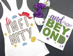 Get ready to go to infinity and beyond with your Disney style! With Toy Story Land opening next month, it's time to find the perfect apparel and Disney Diy, Disney Crafts, Disney Love, Disney Ideas, Disney Style, Disney Halloween Shirts, Disney Couples, Disney Shirts For Family, Disney Girl Shirts