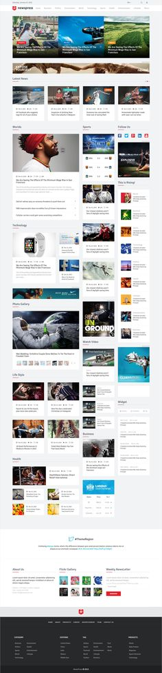 NewsPress is a modern loking and creative News Template. Built with #Bootstrap 3x. It is perfect choice for your news, blog & #magazine #websites. It's very easy to customize according to your needs.
