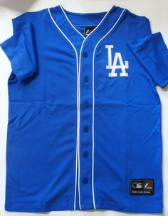 Majestic Athletic Unisex LA Dodgers 100% Baumwolle Große Liga Baseball Trikots in Kleidung & Accessoires, Herrenmode, Freizeithemden & Shirts | eBay