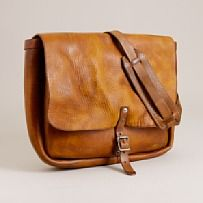 """The original"" leather postal messenger bag (J.Crew) $595"