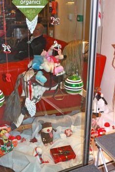 The Toy Shop Xmas window display.