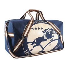 The Rolex Kentucky is the only 4 star 3 day event in the US.  This is the officially licensed duffel. Navy.  Rebecca Ray Designs