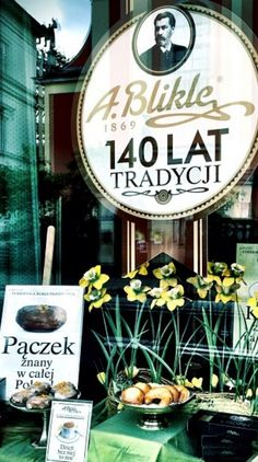 Established in 1869, the most famous bakery in Poland, Confectionery Blikle, www.blikle.pl/