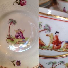 Saint Ouen, French Country, Tables, English, Plates, Tableware, Mesas, Licence Plates, Dishes