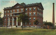 City Hospital, Akron OH  First hospital to treat alcoholism as a disease.