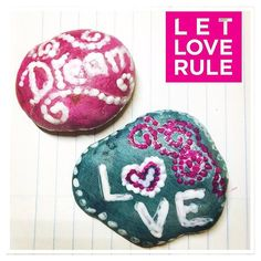 I just had to try some #rockpainting #painting #love #dream #rocks #hobby #newhobby #startingout #crafting #craftingideas #vhga #granalacant Love Rules, New Hobbies, Painted Rocks, Crafting, Stars, Painting, Painting Art, Painted Pebbles, Crafts To Make
