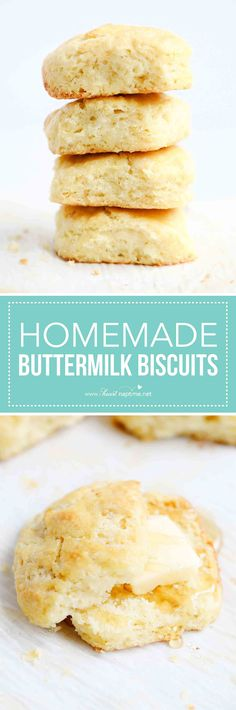 Homemade Biscuits - I Heart Naptime