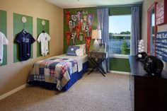 Boys Baseball Room in the Amberly community in Winter Springs, FL